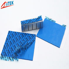 ultra soft Thermal Conductive pad For LED lighting 4 W/M-K blue thermal silicone gap filler  TIF100-40-12U